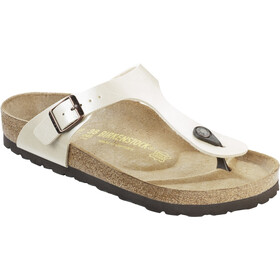 Birkenstock Gizeh Flips Birko-Flor Regular Women, graceful pearl white